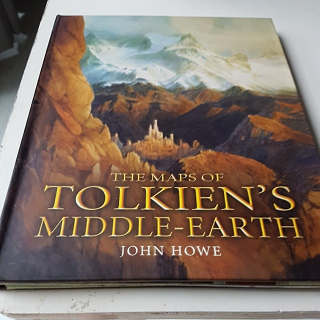 The maps of Tolkien s middle earth, Books & Stationery, Fiction on