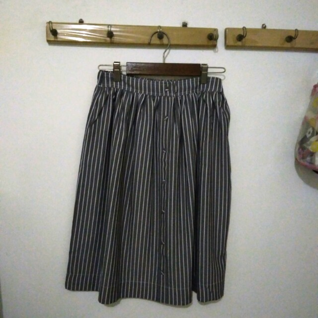 This is April grey skirt