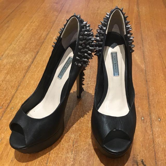 Tony Bianco Stud Heels