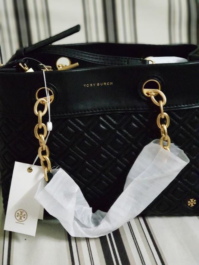 Tory Burch Fleming Triple Compartment