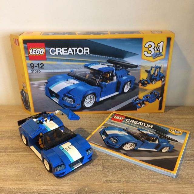 Reserved Lego 31070 Creator 3 In 1 Turbo Track Racer Used Toys