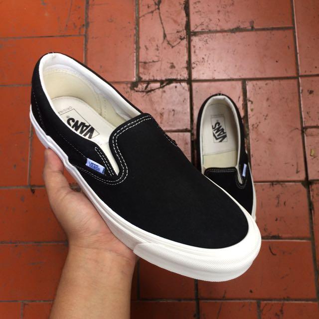 91b608b63d Vans Slip On OG Black White BNIB