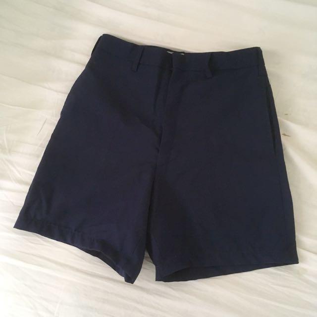 Vintage 70s 深藍色西裝褲 nude 2143 92pleats