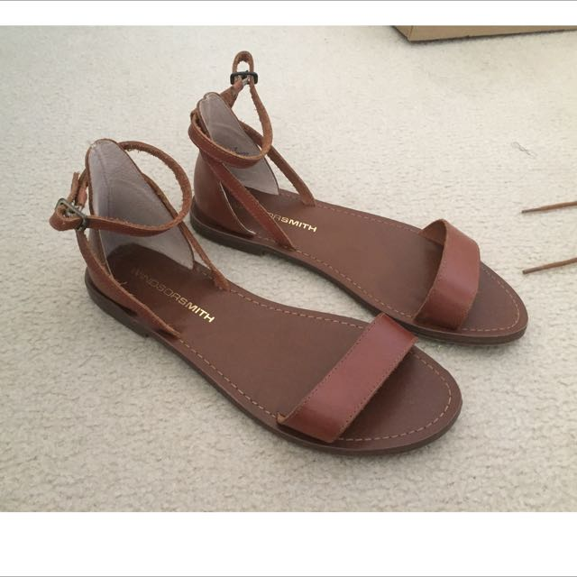 Windsor Smith Brown Sandals Size 7