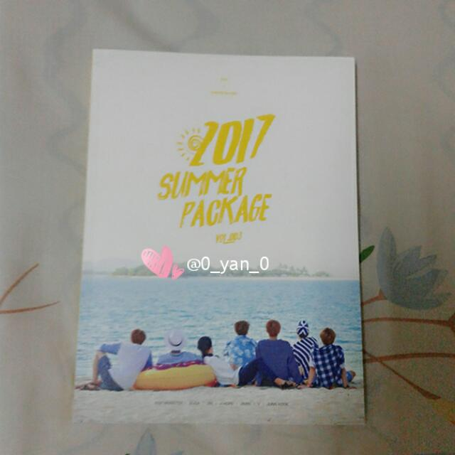 [WTS Only] BTS 2017 summer package photobook