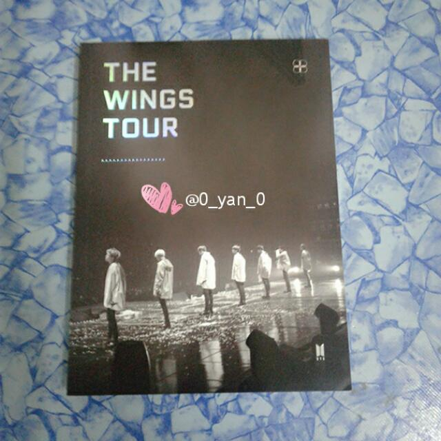 [WTS Only] BTS 2017 Wings tour in Seoul dvd photobook