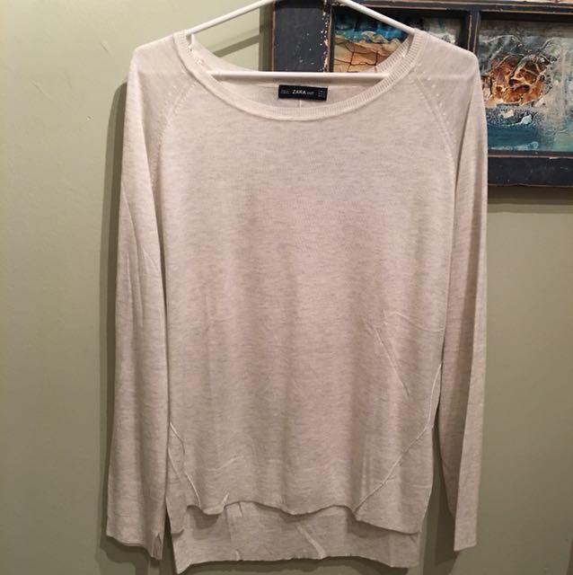 ⚫️XL Zara Soft Knit Sweater