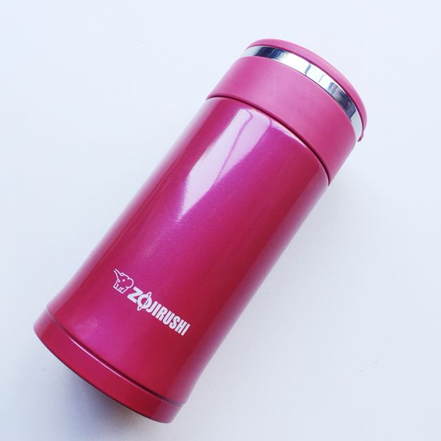 ZOJIRUSHI STAINLESS STEEL THERMO FLASK PINK