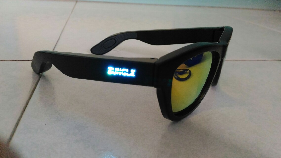Zungle Sunglasses with speakers