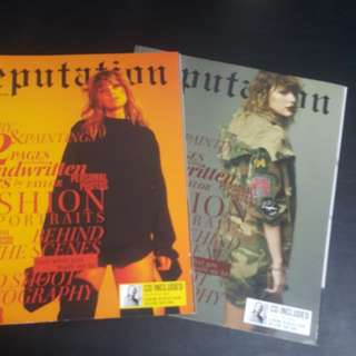 Preorder: Taylor Swift Reputation Magazines