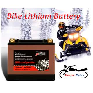 Motorcycle Lithium Battery (Power Start)