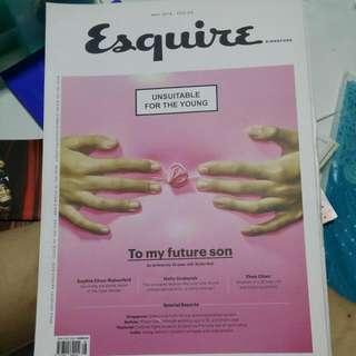 Gentle Bones - ESQUIRE Magazine (may 2016 issue)
