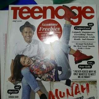 Teenage Magazine (aug 2016 issue)