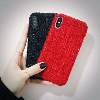 Fashionable Wooly Phone Case For iPhone 6/7/8/X