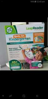 BNIB Leapfrog Leapreader Kindergarden Flashcard