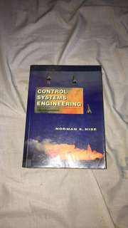 Control System Engineering by Norman Nise