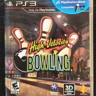 PS3 High Velocity Bowling (Move Edition)