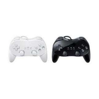 全新 Wii Classic Controller Pro 經典手制2代 副廠 Wii經典手柄 遊戲手柄 Wiiu