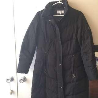 Calvin Klein Long Walker Jacket-sz Small