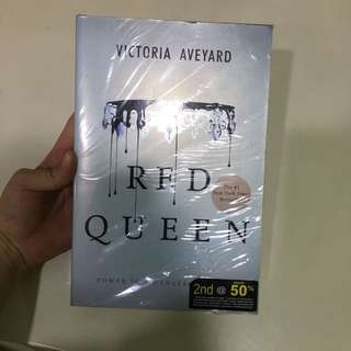 Red queen- Victoria Aveyard (unopened; brand new!)