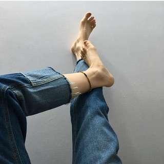 牛仔褲拼接