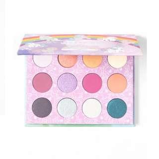 "Colourpop ""My little pony"" eyeshadow palette"