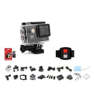 NAF S3 Action Camera With Remote & 32Gb sandisk SDHC