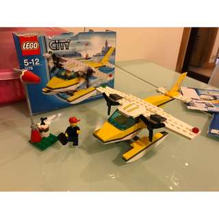 Lego 3178 City系列-水上飛機 (公司比賽剩餘物資)