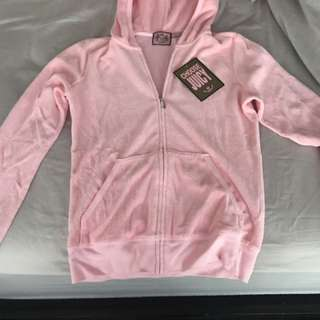 Pink Juicy Couture Hoody (brand new, size small)