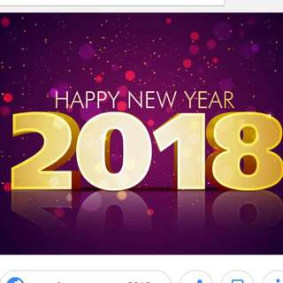 Happy New Year 2018 To All !!