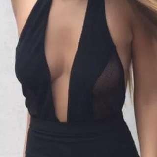 Bodysuit playsuit size 8