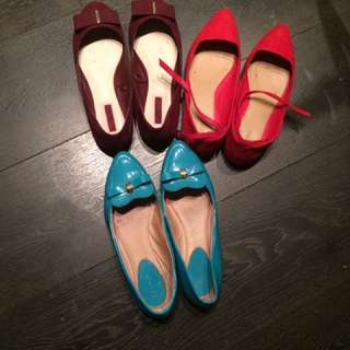 Moving sale 3 shoes for &5