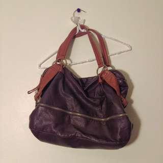 Pleather purse