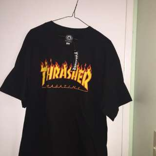 Thrasher Magazine Flames Tee NEW