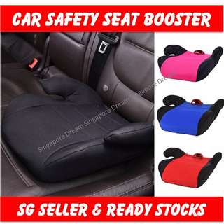 Car Safety Seat Booster Breathable Cushion Portable Comfortable For Baby Toddler Kids Children