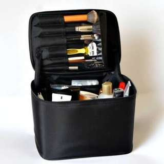 Muji Vanity Cosmetics Makeup Travel Case