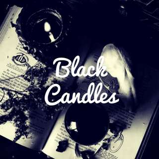 Annointed Black Candles