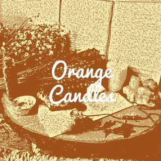 Orange Anointed Candles