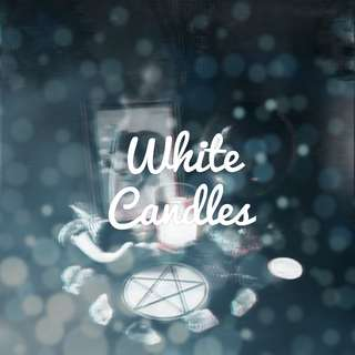 Anointed White Candles