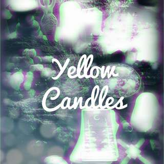 Yellow Anointed Candles
