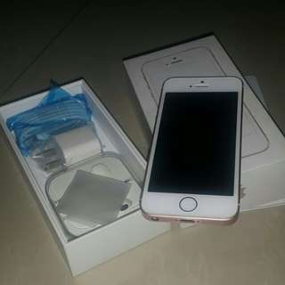 [REPRICED]iPhone SE rose gold 16GB
