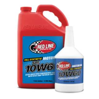 Red Line High Performance Motor Oil 10W60