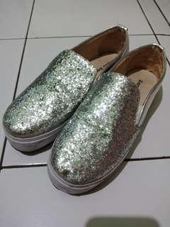 Slip on Silver, merk San Dona, size 38