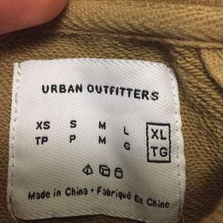 *Price Reduced*Urban Outfitters Beige Crewneck Sweater