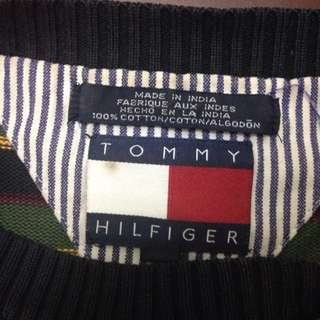 *Price Reduced* Vintage Tommy Hilfiger Striped Sweatshirt
