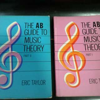 The AB Guide To Music Theory - Eric Taylor (Part I,  II)