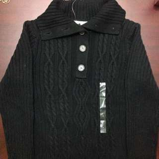 Price reduced!! Tommy Hilfiger Black Knit Sweater