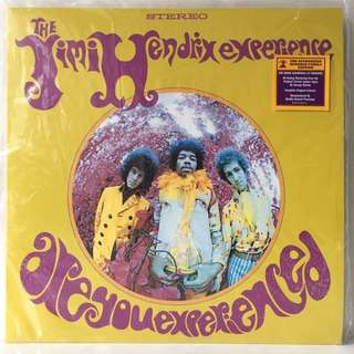 The Jimi Hendrix Experience ‎– Are You Experienced (2014 USA Remastered 180g Repress - Vinyl is Mint)