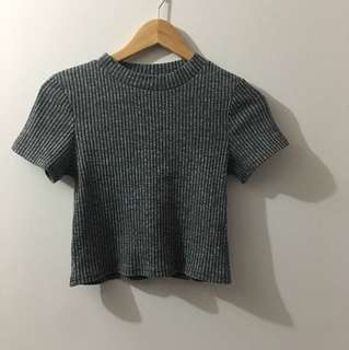 Grey top size M