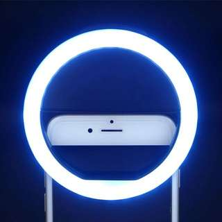 Selfie LED Flash Light Up Universal Mobile Phone Selfie Luminous Ring
